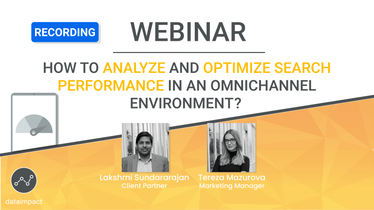 webinar search optimization omnichannel performance data impact