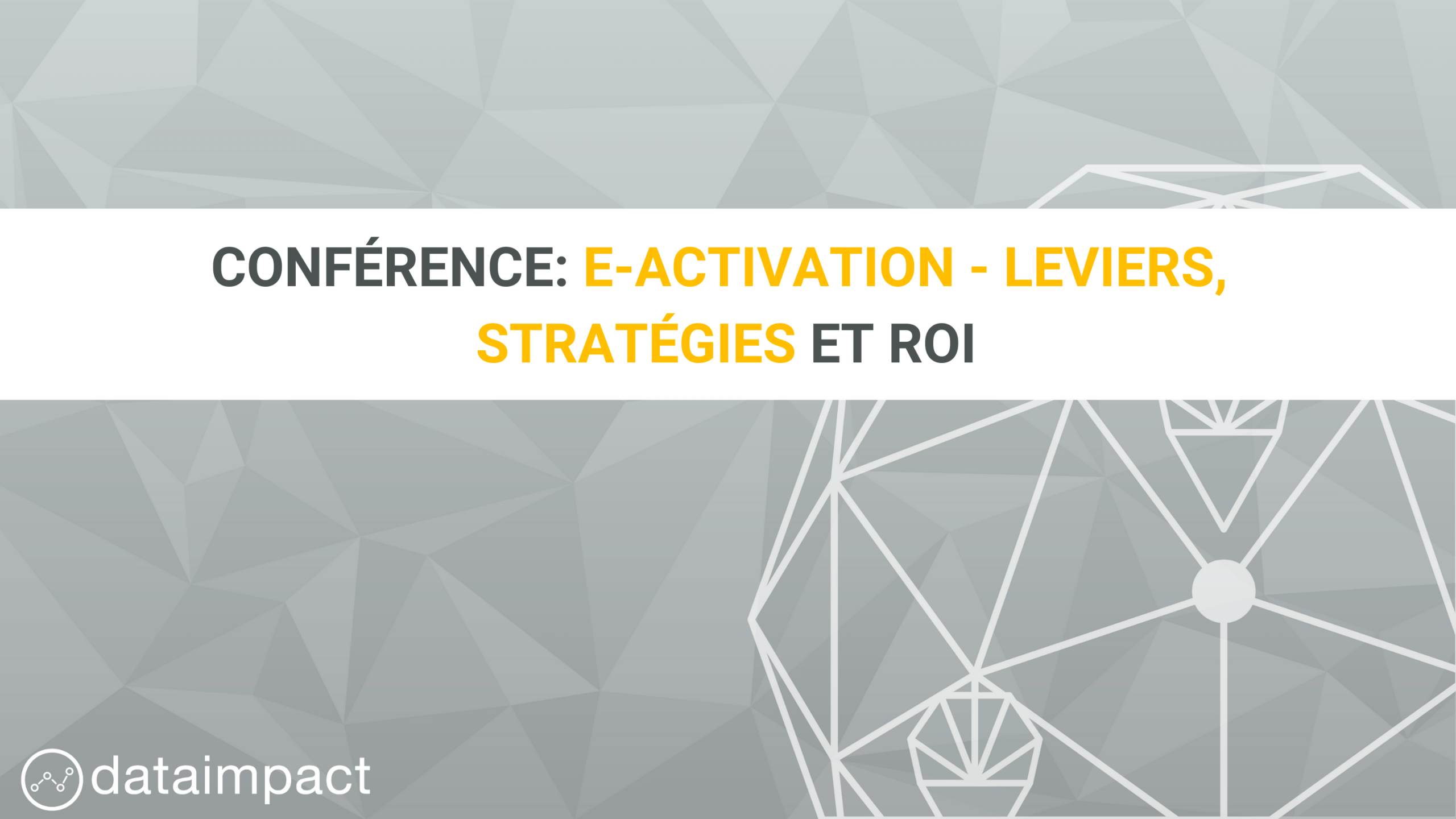 conférence e-activation leviers strategies roi e-retail media institut du commerce