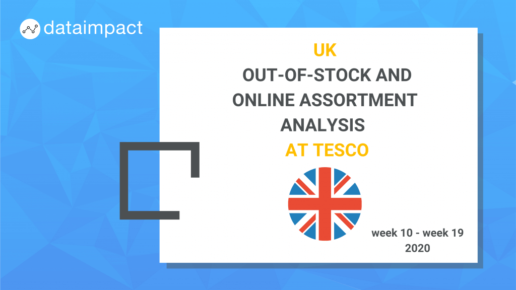 UK analysis assortment out of stock tesco data impact beer category