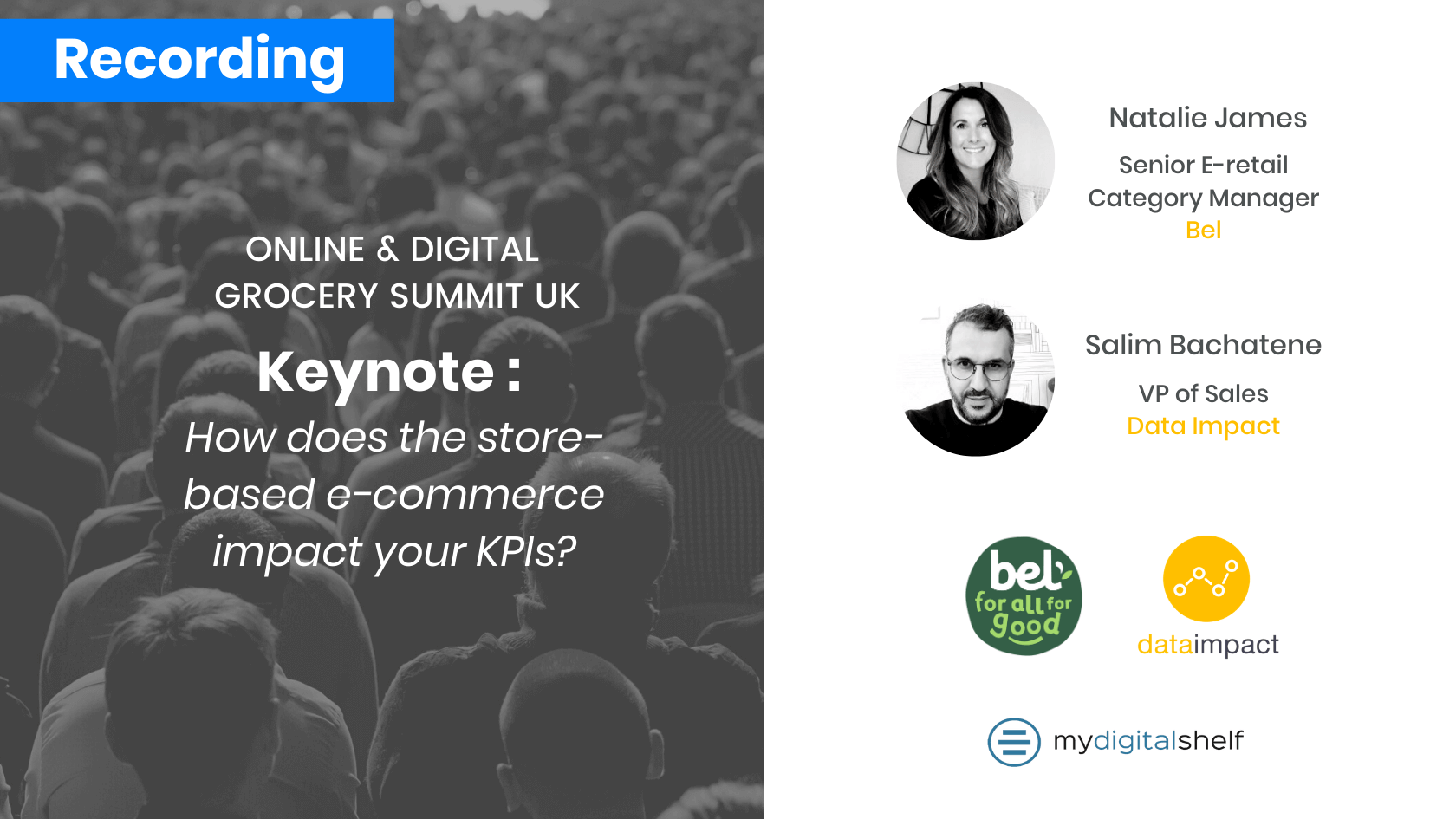 Keynote : How does the store-based eCommerce impact your KPIs?