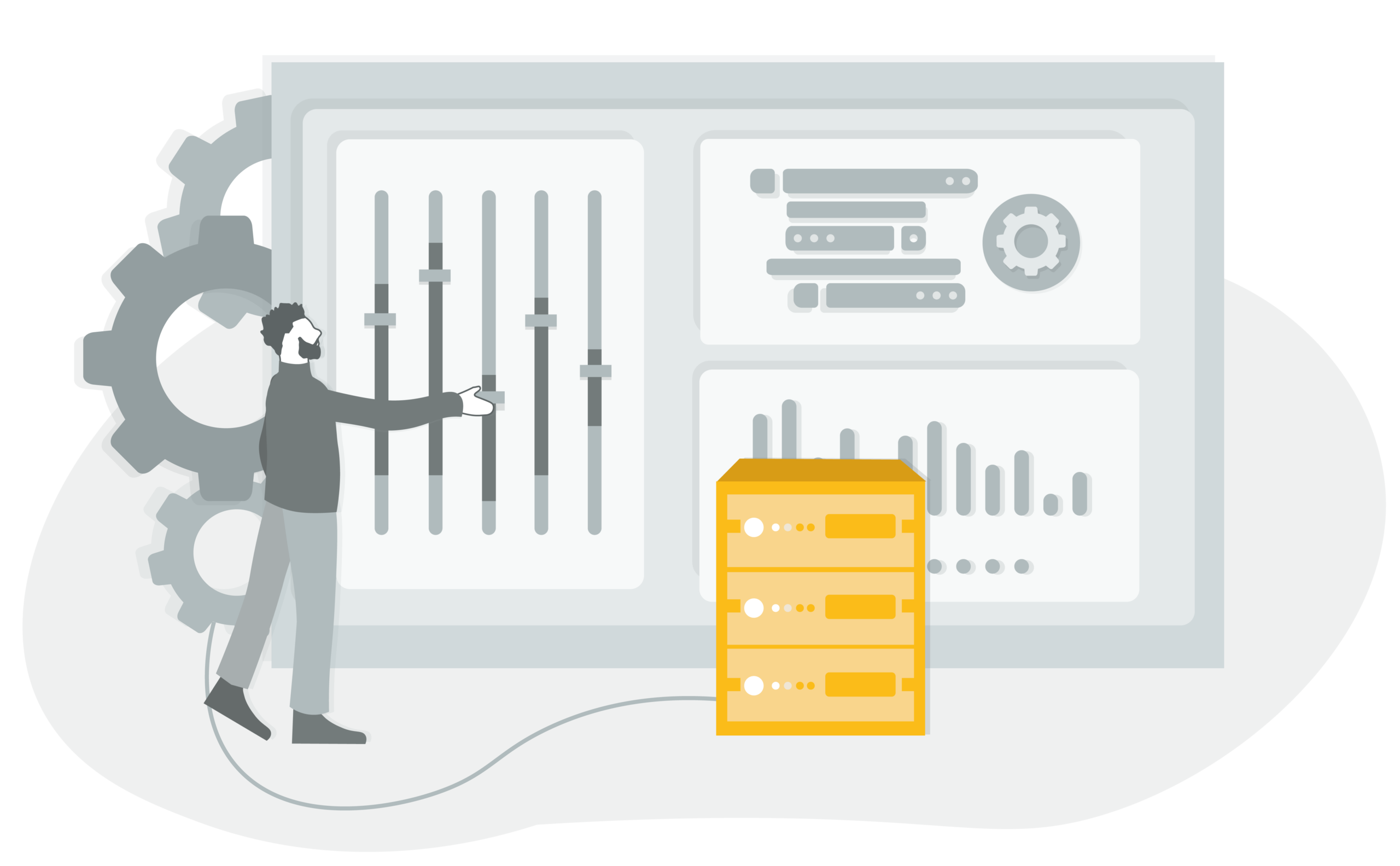 Data processing and analysis illustration