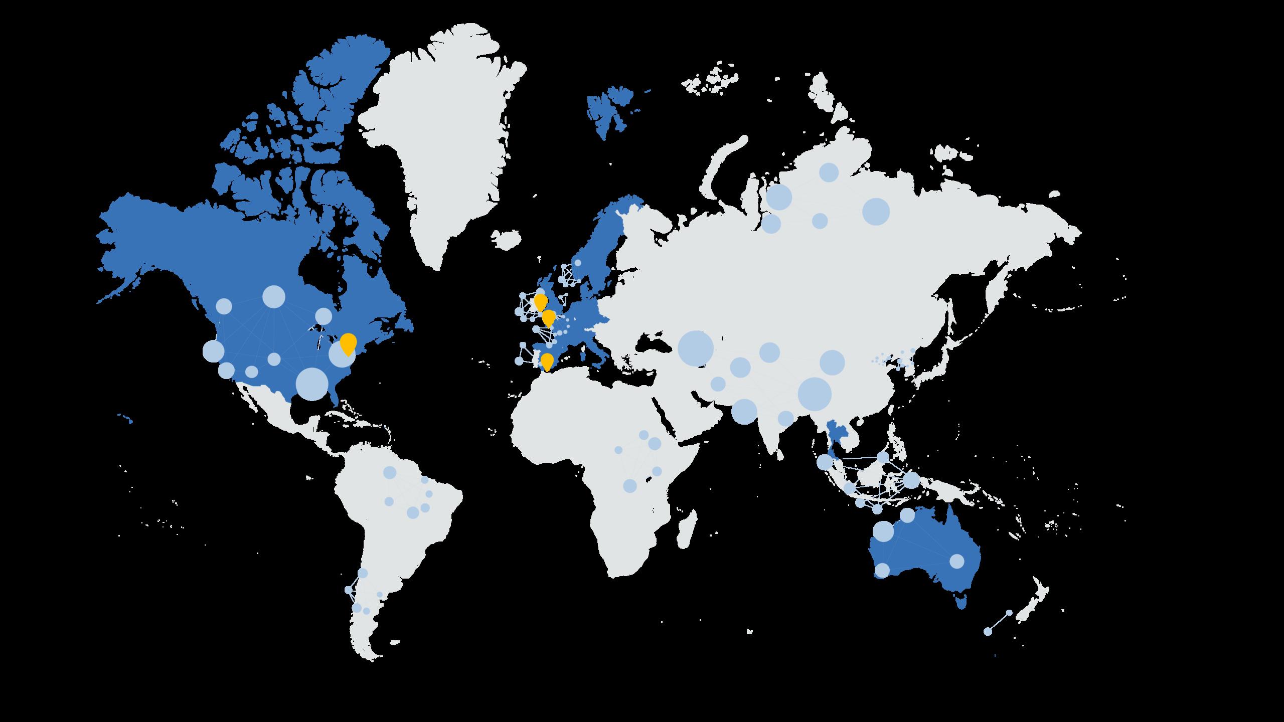Map of activities illustration Data Impact