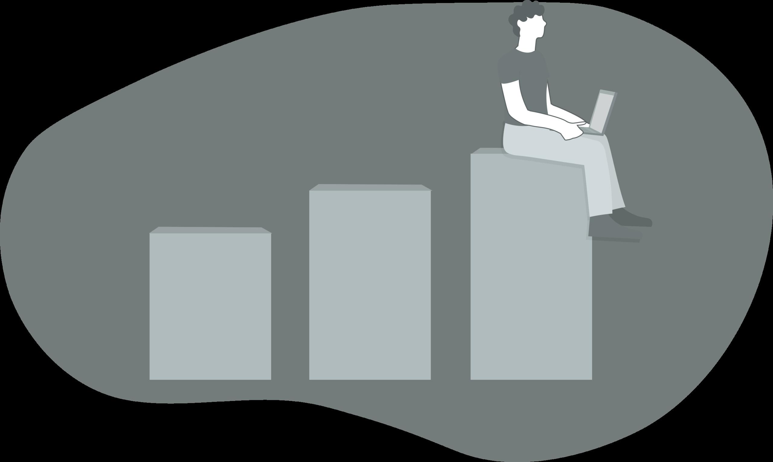 Tracking growth Illustration