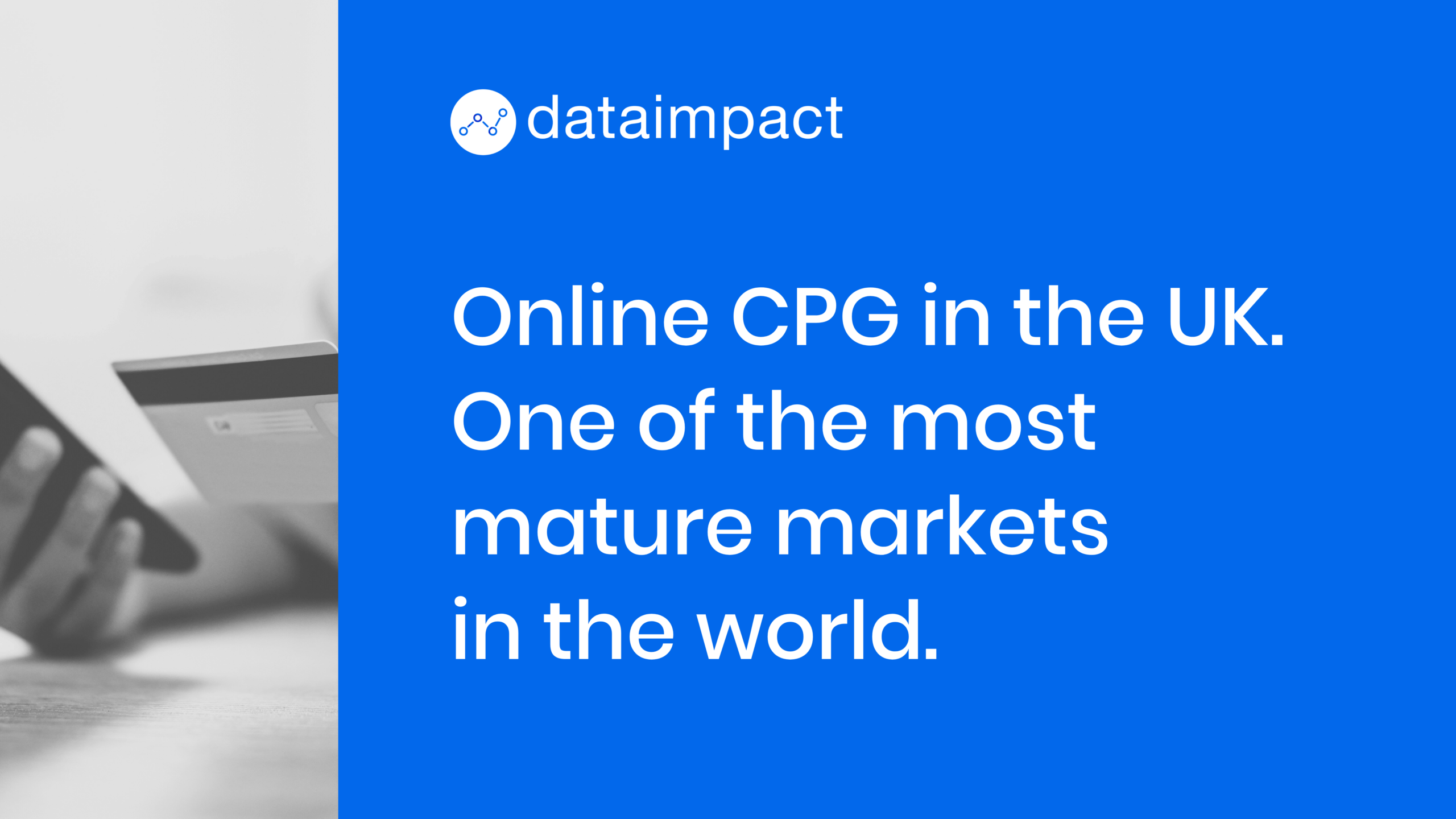 Online CPG in the UK