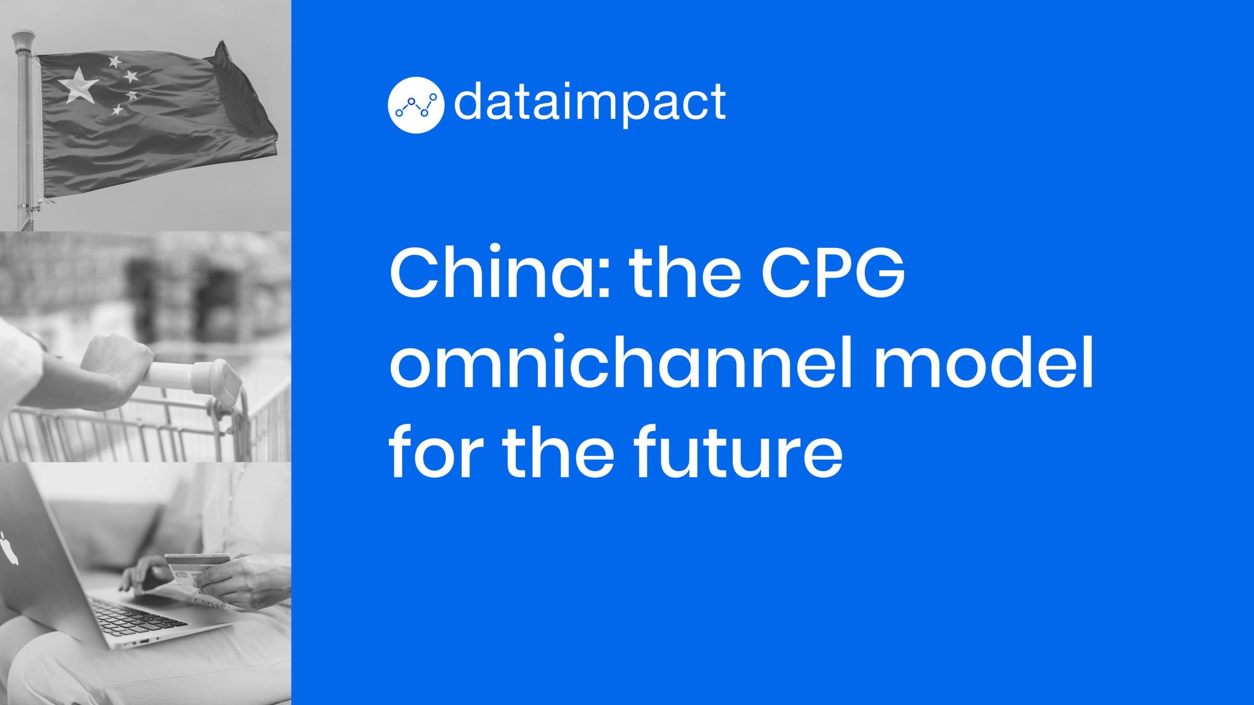 china omnichannel model CPG