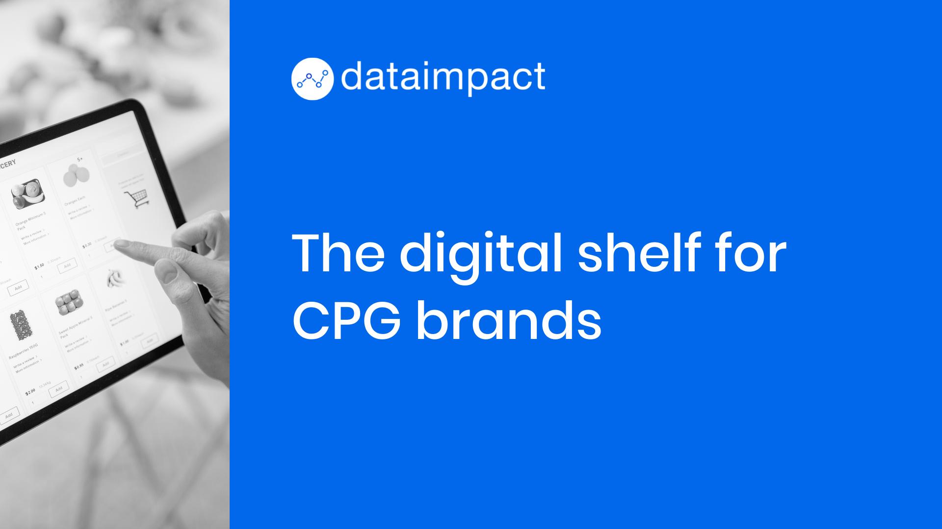 digital shelf brands CPG