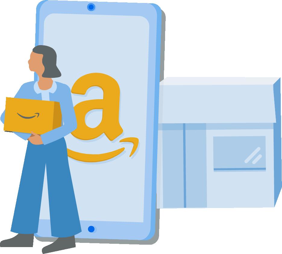 Amazon market share
